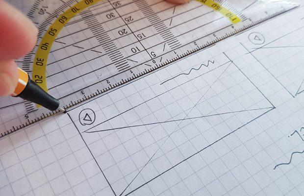 Wireframe designen