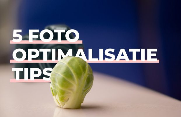 Foto optimalisatie